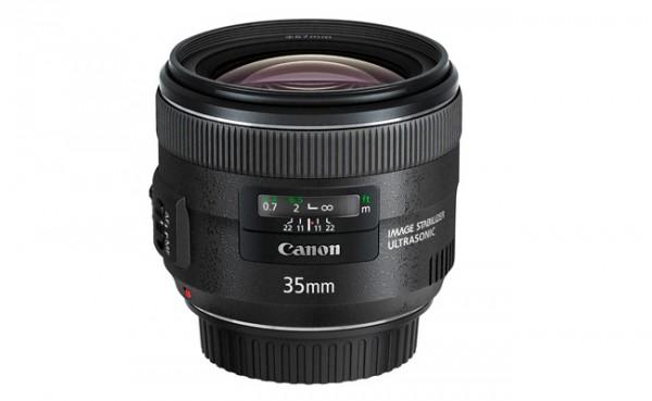 Nuevos objetivos de Canon; EF 35 mm f2 IS USM