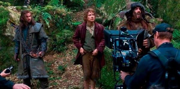 'El Hobbit', fotografías del rodaje