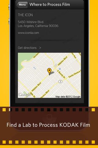Kodak crea una nueva aplicación para iOS