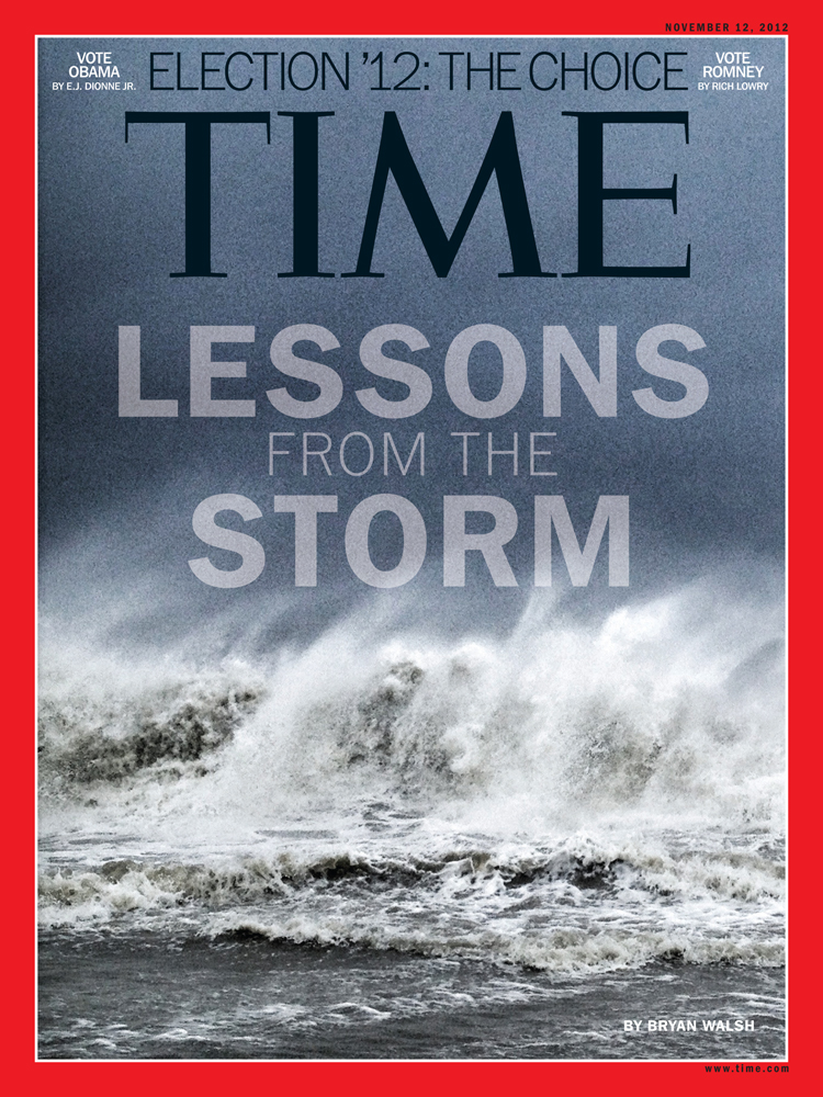 La revista Time luce en su portada una fotografía tomada con un iPhone