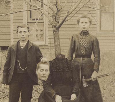 Fotografías macabras sin cabeza de finales del siglo XIX
