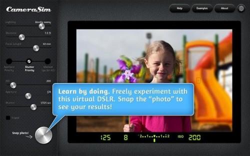CameraSim Simulator, una aplicación para los que no se deciden
