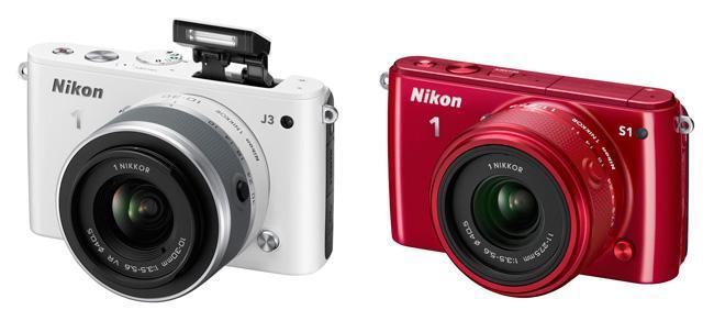Nuevas presentaciones de Nikon, la 1 J3 y la S1