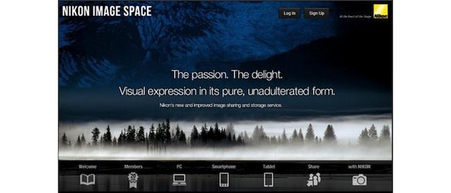 Nikon decide renovar su nube, que pasará a llamarse Nikon Image Space