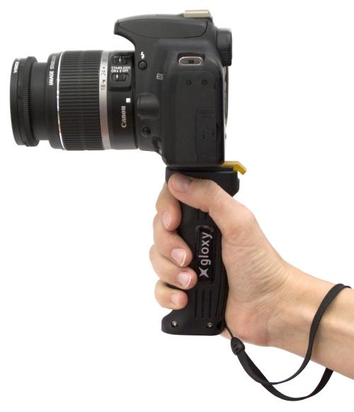 Gloxy: una empuñadura para grabar vídeo
