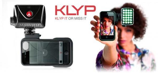 Aporta un extra de luz a la cámara de tu smpartphone con el accesorio Klyp