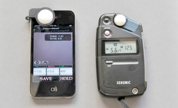 Luxi, un accesorio para convertir el iPhone en un medidor de luz