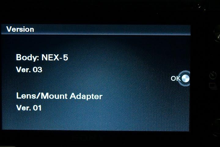 Sony actualiza el firmware de nueve de sus cámaras
