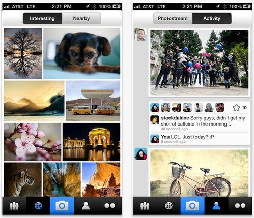Flickr se actualiza e introduce hashtags en iOS