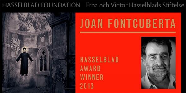 Joan Fontcuberta, ganador del Premio Internacional de Fotografía de la Fundación Hasselblad 2013