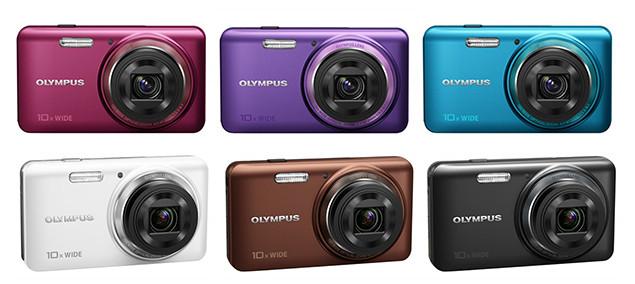 Olympus incorpora la tecnología IHS a sus compactas