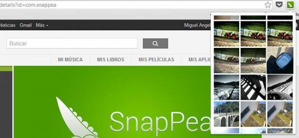SnapPea, un programa para gestionar las fotografías móviles desde el ordenador