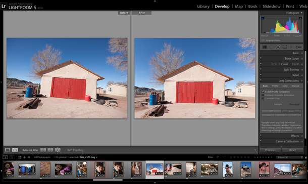 Adobe lanza la primera beta pública de Lightroom 5
