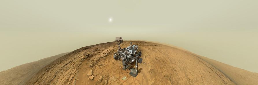 La panorámica de Marte de Bodrov alcanza el millón y medio de visitantes