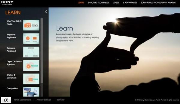 Sony ha presentado un portal dedicado a la formación básica online