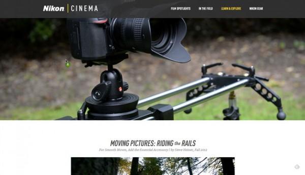 Nikon Cinema, el nuevo sitio web de Nikon para promocionar vídeos