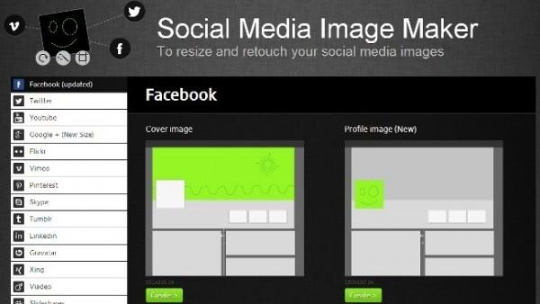 Social Media Image Maker, un programa para no perder el tiempo