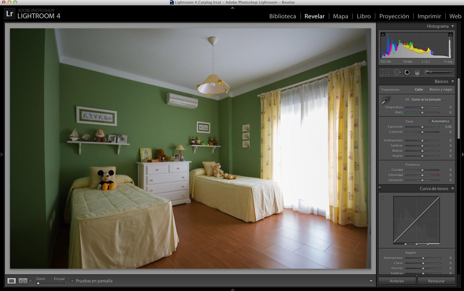 Las claves de la fotografía de interiores: el procesado