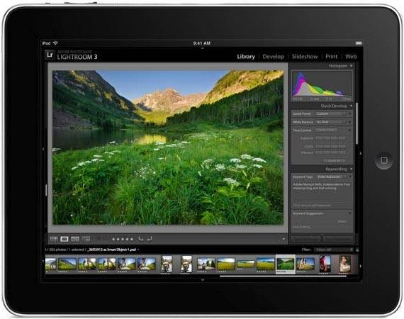 ¿Nuevo Lightroom para iPad?
