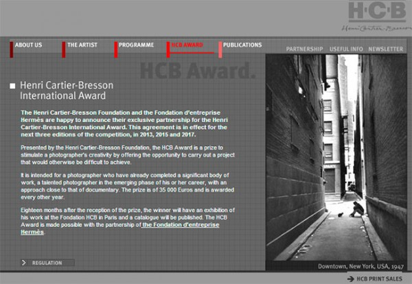 Nuevas ediciones de los premios internacionales Henri Cartier-Bresson