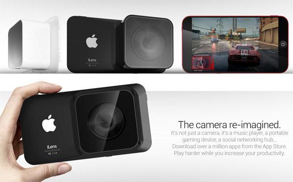 iLens, ¿La nueva cámara de Apple?
