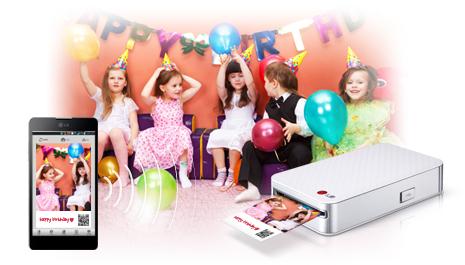 LG lanza una impresora para móviles