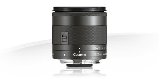 Canon presenta un súper gran angular para su EOS M