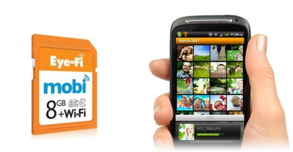 Eye-Fi mobi, de la cámara al móvil
