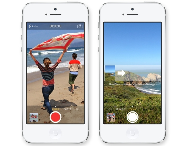 Apple presenta iOS 7 con mejoras en su cámara
