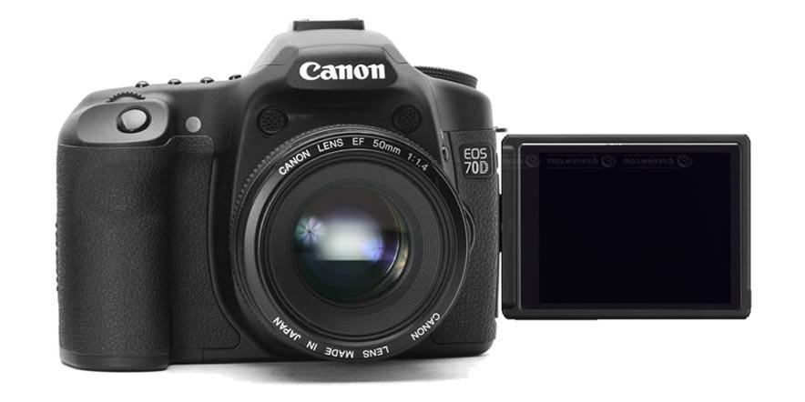 Canon presenta la EOS 70D