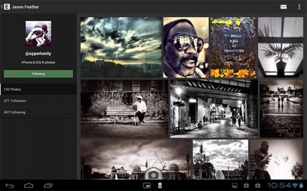 EyeEm lanza su aplicación para tablets Android