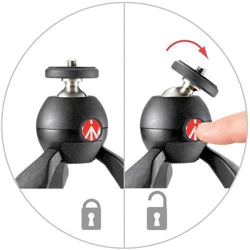 Manfrotto Pixi, el nuevo trípode para cámaras compactas