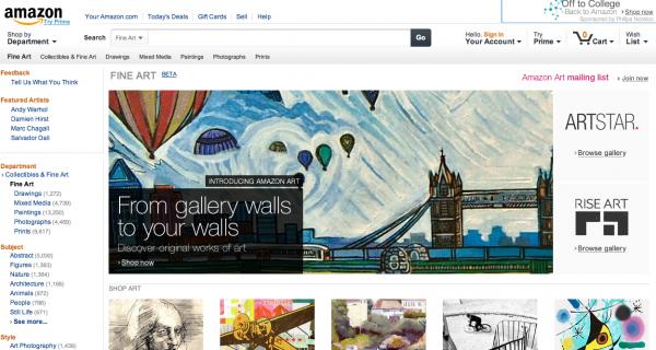 Amazon crea una plataforma para la venta de fotografía