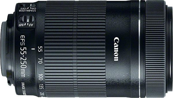 Canon renueva su objetivo 55-250