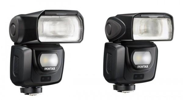 Los dos nuevos flashes de Pentax