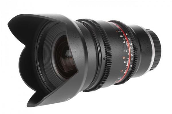 Samyang V-DSLR 16mm, el nuevo gran angular