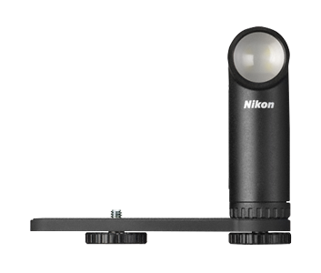 Nikon presenta un pequeño flash de luz continua