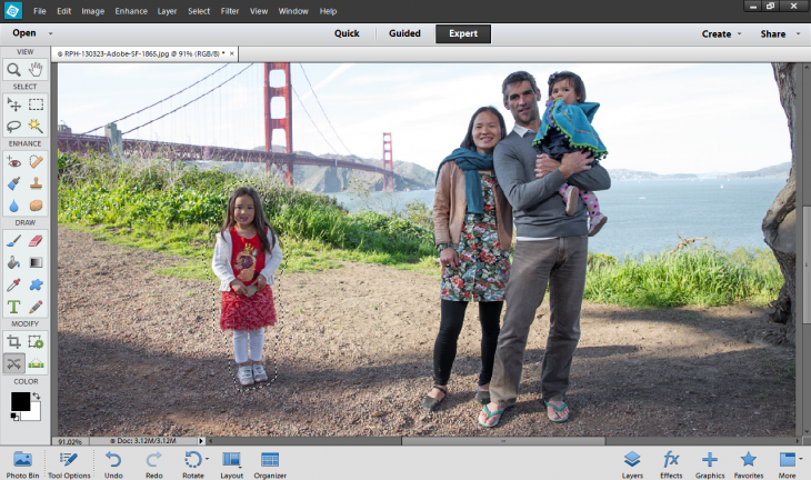 Adobe presenta Photoshop Elements 12
