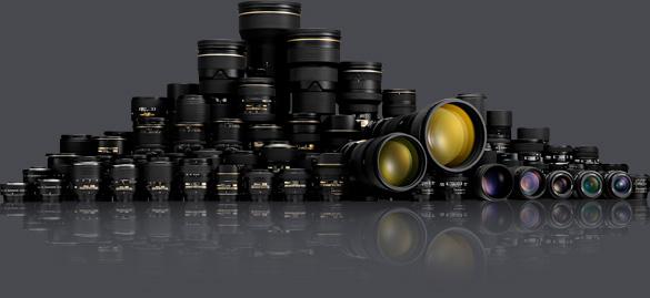 La nomenclatura de los objetivos para Nikon