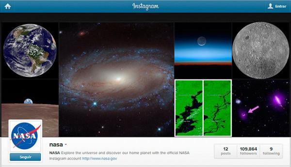 La NASA se une a instagram