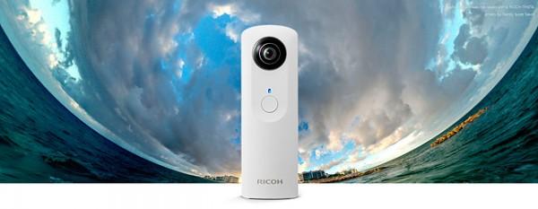 Ricoh Theta, el nuevo dispositivo con lentes gemelas de Ricoh