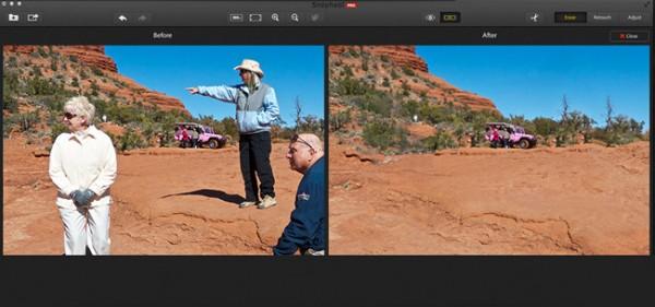 Snapheal Pro, el programa de retoque para los principiantes con Mac
