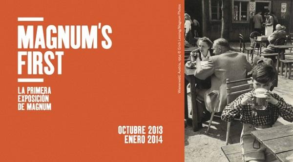 Lo primero de Magnum llega a Madrid