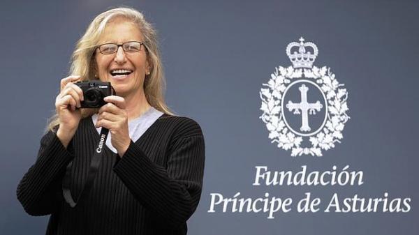 Annie Leibovitz gana el premio Príncipes de Asturias