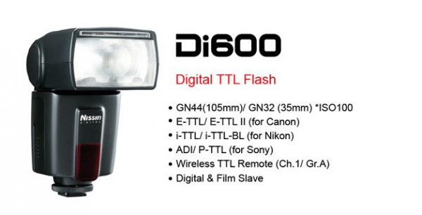 Nissin Di600, un flash low cost muy interesante