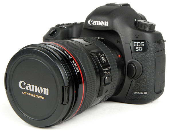 Canon actualiza el firmware de su 5D Mark III