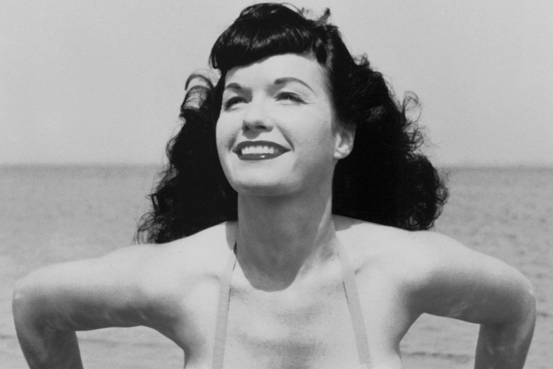 Salen a la luz 50 fotografías inéditas de la gran Bettie Page