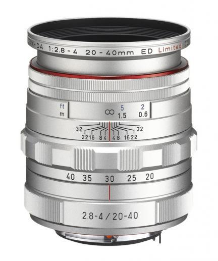 HD PENTAX-DA 20-40 mm F2.8-4ED, el nuevo objetivo de Pentax