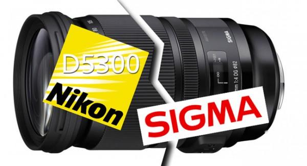 Sigma y su problema de compatibilidad con la nueva Nikon D5300