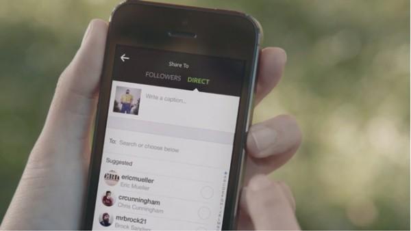 Instagram Direct, la nueva función de la red social fotográfica más usada